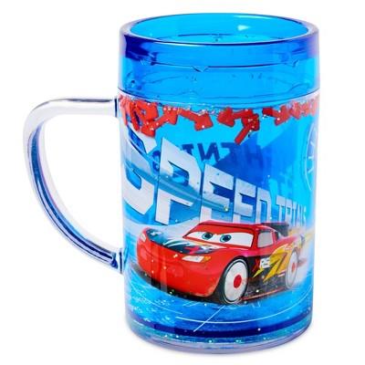 Disney Cars 7.5oz Plastic Kids Cup Blue - Disney store