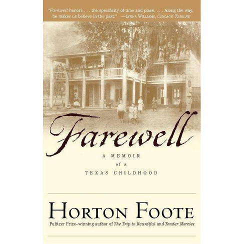 Farewell - by  Horton Foote (Paperback) - image 1 of 1