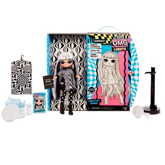 L.O.L. Surprise! O.M.G. Lights Groovy Babe Fashion Doll image number null