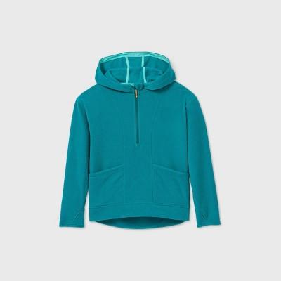 Girls' Fleece 1/4 Zip Sweatshirt - All in Motion™
