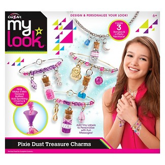 My Look Pixie Dust Treasure Charms by Cra-Z-Art