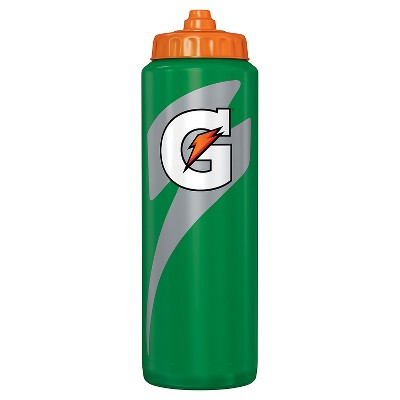 Gatorade® 28oz Squeeze Water Bottle - Green