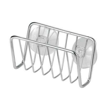 mDesign Metal Wire Kitchen Sink Storage Caddy, Soap / Sponge Holder
