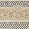 Mina Victory Life Styles Diamond Stripe Texture Throw Pillow - image 4 of 4