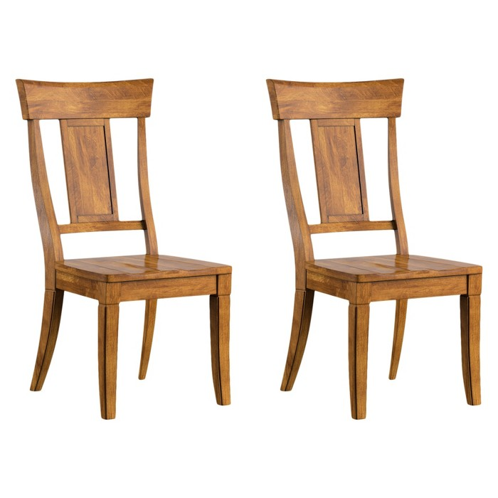 South Hill Panelled Back Dining Chair 2 in Set - Inspire Q® - image 1 of 4