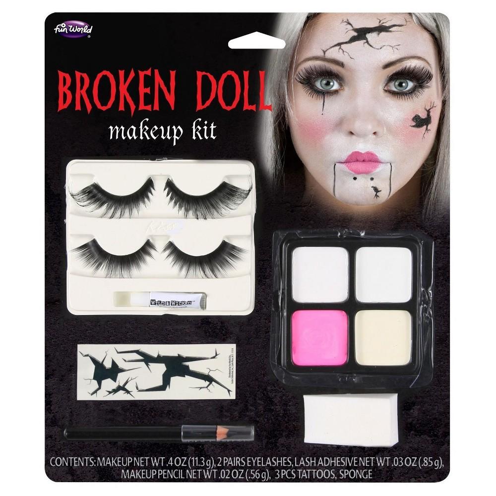 Broken Doll Face Makeup Kit, Multi-Colored