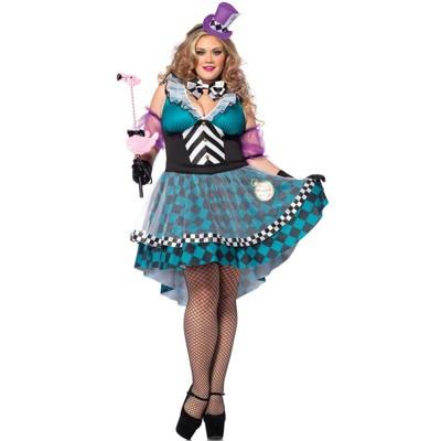 Leg Avenue Manic Mad Hatter Plus Size Costume