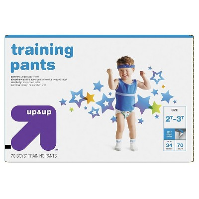 Training Pants for Boys 2T-3T (70ct)- Up&Up™