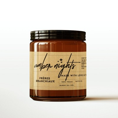 Amber Nights Candle - Freres Branchiaux