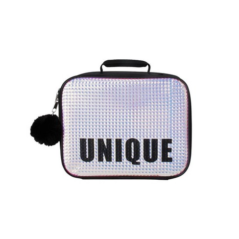 Unique Lunch Bag - Silver/Black - image 1 of 3