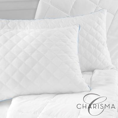 Charisma Gel-Infused Memory Foam Cluster Jumbo Pillow - 2 Pack