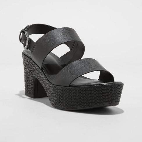 Women's Demi Platform Heels - A New Day™ - image 1 of 4