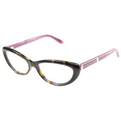 Marc by Marc Jacobs  C4B Womens Cat-Eye Eyeglasses Havana Pink 53mm