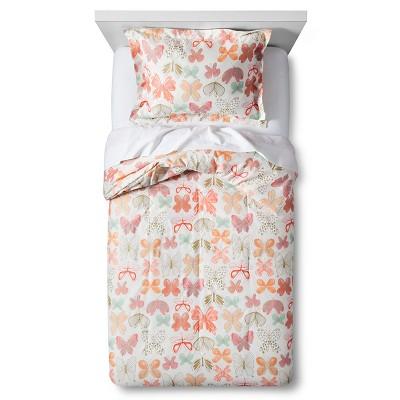 3pc Full/Queen Mariposa Magic Comforter Set Pink - Pillowfort™