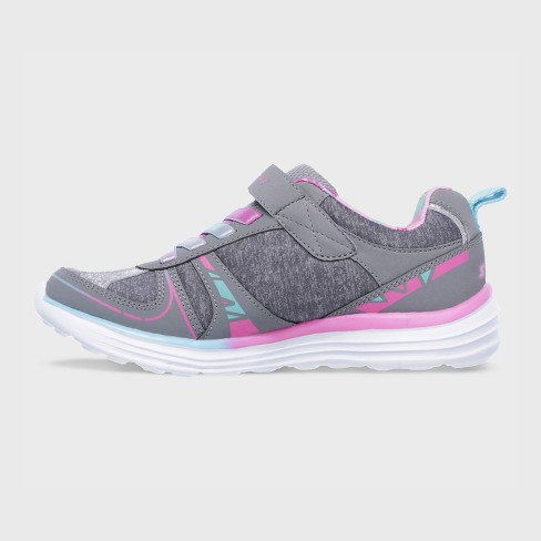 ee90d519d Girls  S SPORT BY Skechers Laycie Performance Athletic Shoes - Gray   Target