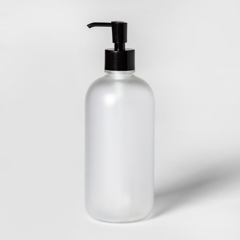 Oversized Plastic Soap/lotion Dispenser Clear - Room Essentials™ - image 1 of 1
