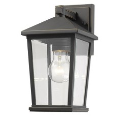 "Z-Lite 568S Beacon 12"" Tall Outdoor Wall Sconce"