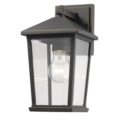 Z-Lite Waterdown 1 Light Outdoor Wall Light in White