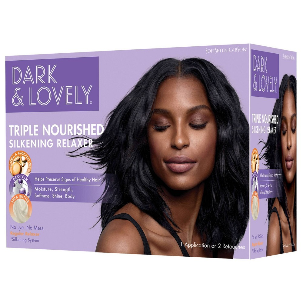 Image of Dark and Lovely Triple Nourished Silkening Relaxer