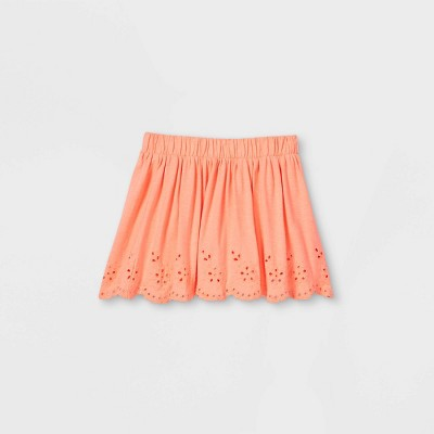 Girls' Eyelet Skirt - Cat & Jack™