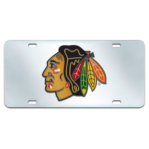 NHL Acrylic Inlaid License Plate Frame - image 1 of 2