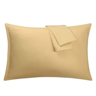2 Pcs Microfiber with Zipper Pillow Cases - PiccoCasa