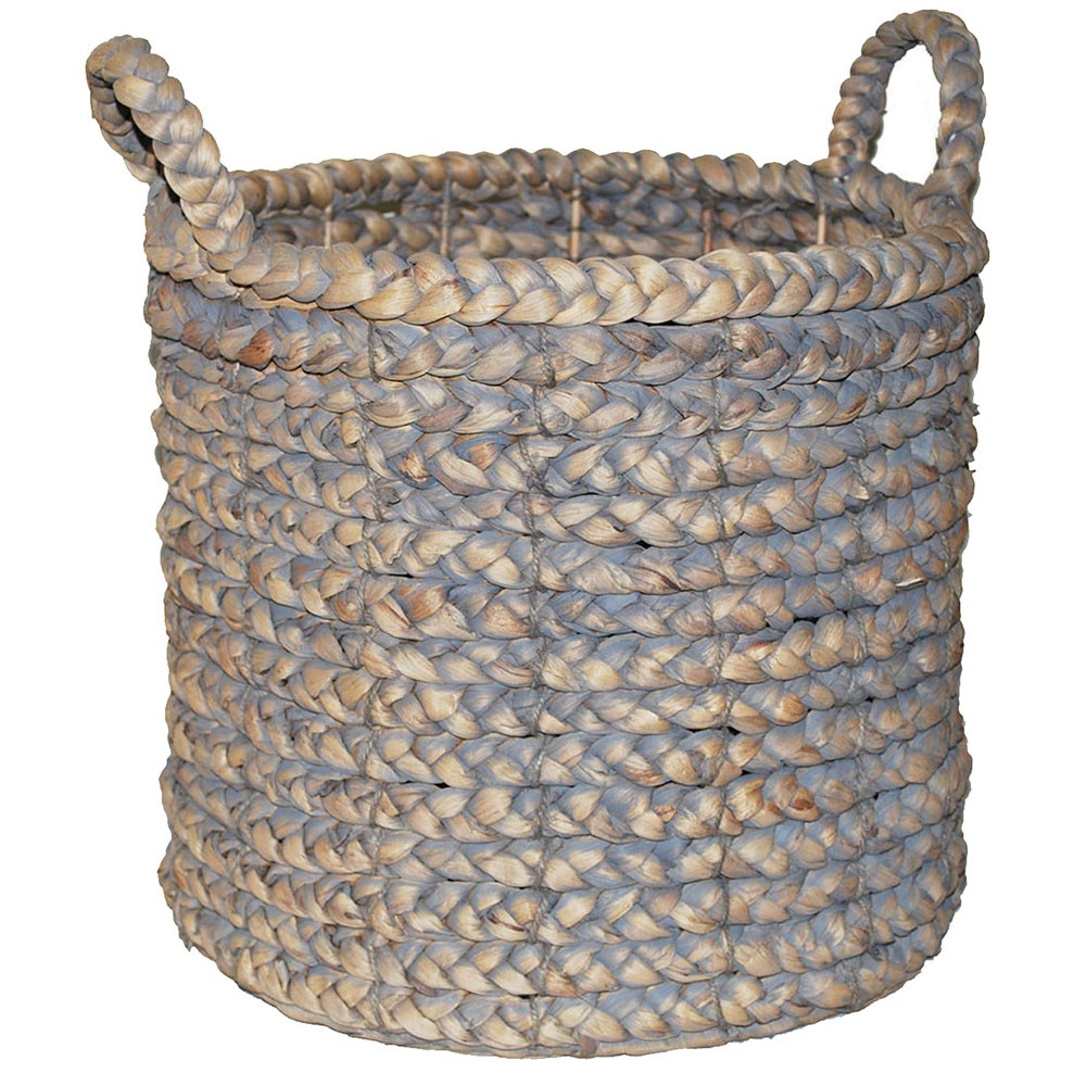 Decorative Basket Gray 16