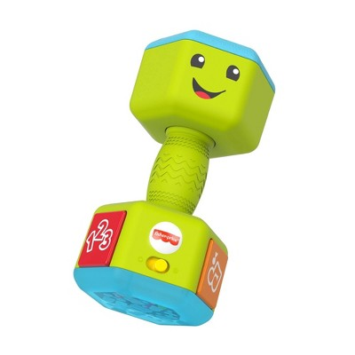 Fisher-Price Laugh & Learn Countin' Reps Dumbbell Toy