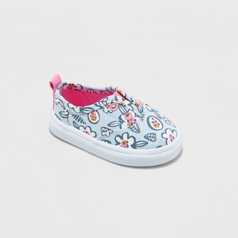 Toddler Girls' Adelaide Low Top Canvas - Cat & Jack™ - image 1 of 3
