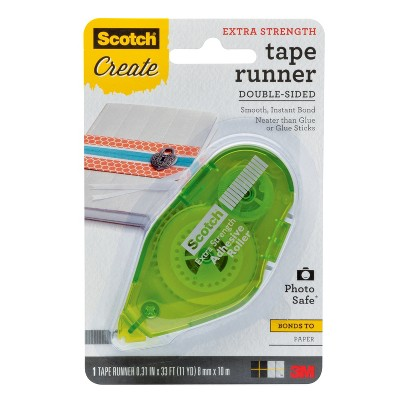 Scotch Create Extra Strength Tape Runner Double-Sided