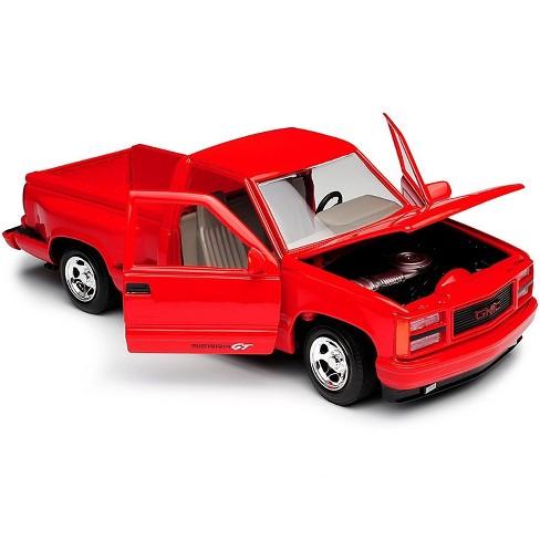 1992 GMC Sierra GT Red Pickup Truck 1/24 Diecast Model by Motormax