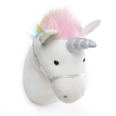 Enesco Unicorn Head 15-Inch Plush Wall Décor