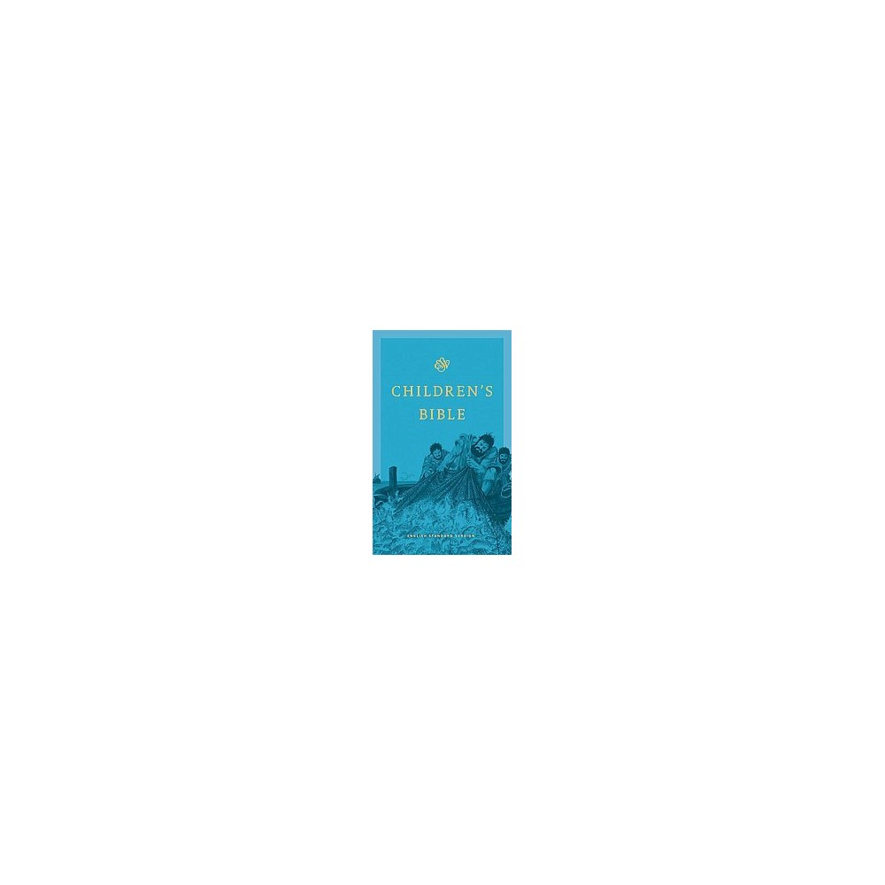 Esv Children's Bible : Blue (Reprint) (Hardcover)