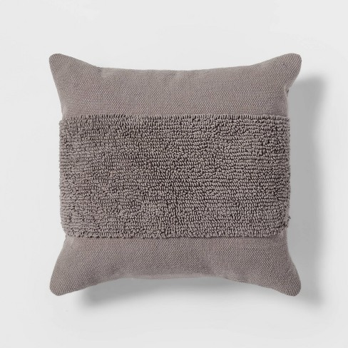 Tufted Modern Pattern Square Throw Pillow - Project 62™ - image 1 of 3