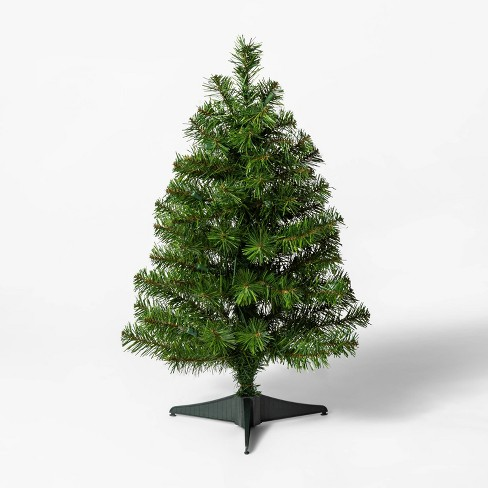 2ft Pre-lit Alberta Spruce Clear Lights Artificial Christmas Tree  - Wondershop™ - image 1 of 3