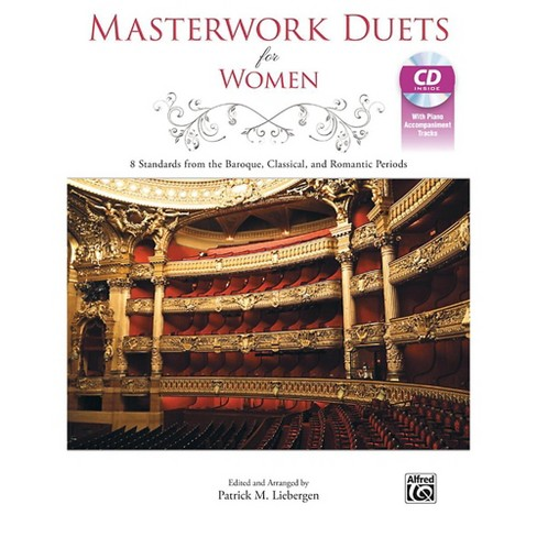 Alfred Masterwork Duets for Women Acc. CD - image 1 of 1