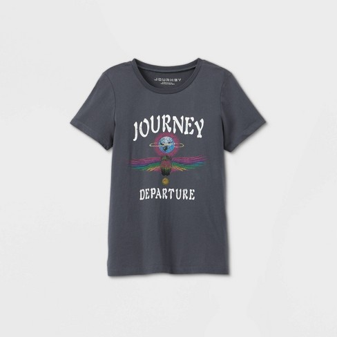 Women's Journey Short Sleeve Graphic T-Shirt - Black - image 1 of 4