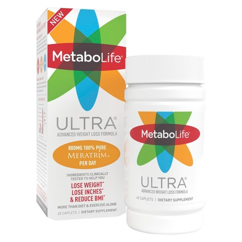 Metabolife Ultra Advanced Weight Loss Formula Dietary Supplement