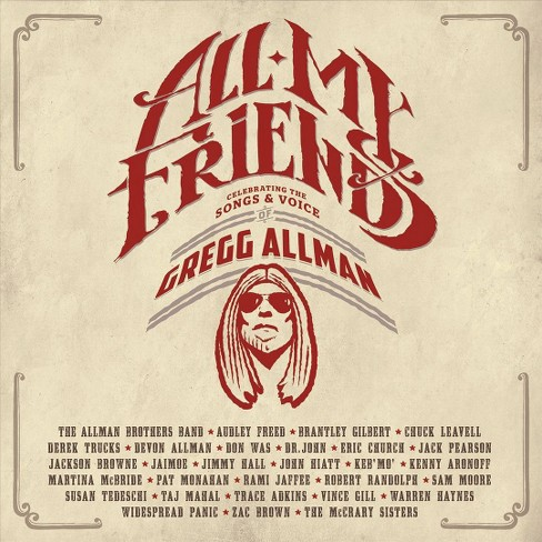 Various - All my friends:Celebrating/Gregg allm (CD) - image 1 of 1
