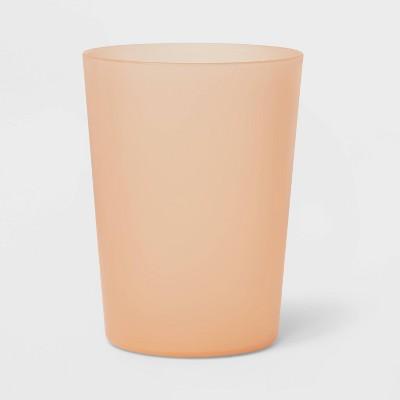 18oz Plastic Short Tumbler Orange - Room Essentials™