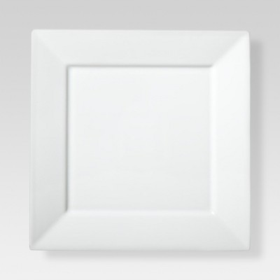 Square Salad Plate Porcelain 8in - Threshold™