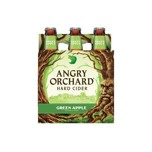 Angry Orchard Green Apple Hard Cider - 6pk/12 fl oz Bottles - image 1 of 4