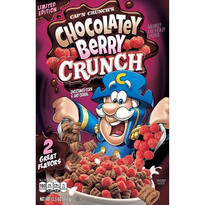 Capn Crunch Chocolatey Berry Breakfast Cereal - 13oz