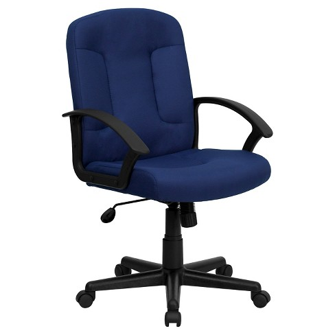 Executive Swivel Office Chair Navy - Flash Furniture - image 1 of 3