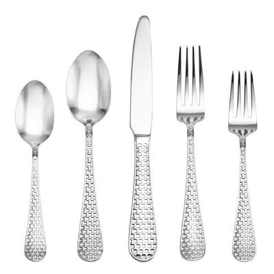 International® Honeycomb 20pc Stainless Steel Silverware Set