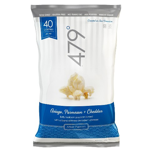 479 Degrees Asiago Parmesan and Cheddar Popcorn 4 oz - image 1 of 1