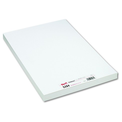 Pacon® Medium Weight Tagboard, 18 x 12 - White (100 Per Pack) - image 1 of 1