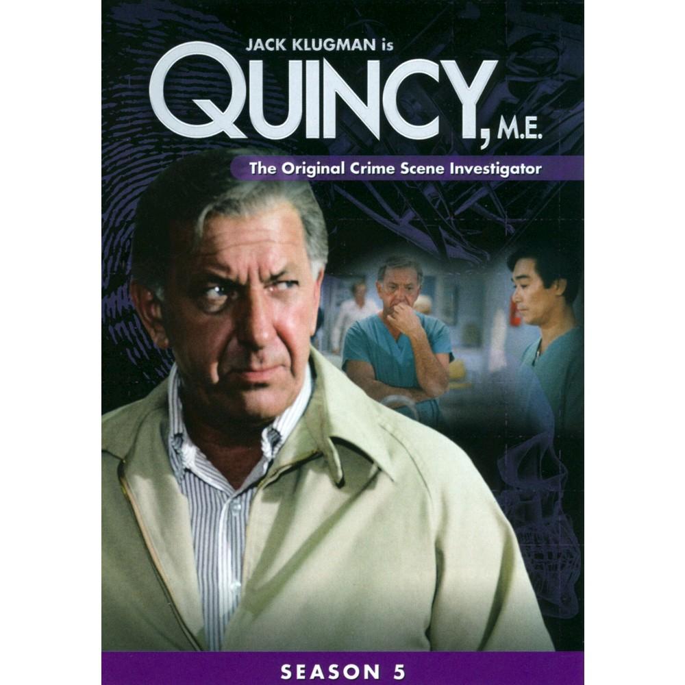 Quincy Me:Season 5 (Dvd), Movies