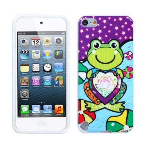 MYBAT For Apple iPod Touch 5th Gen/6th Gen Frog Skin Case Cover - image 1 of 3