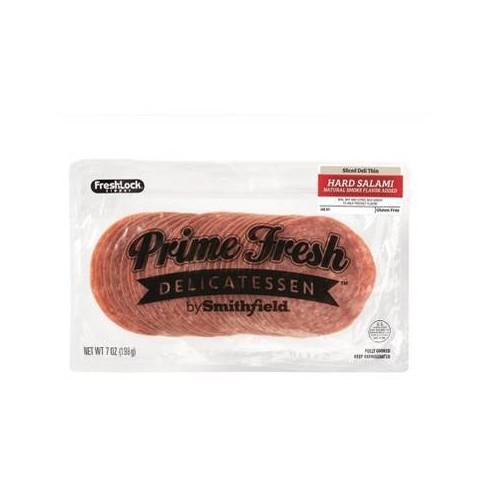 Prime Fresh Hard Salami Slices - 7oz - image 1 of 1